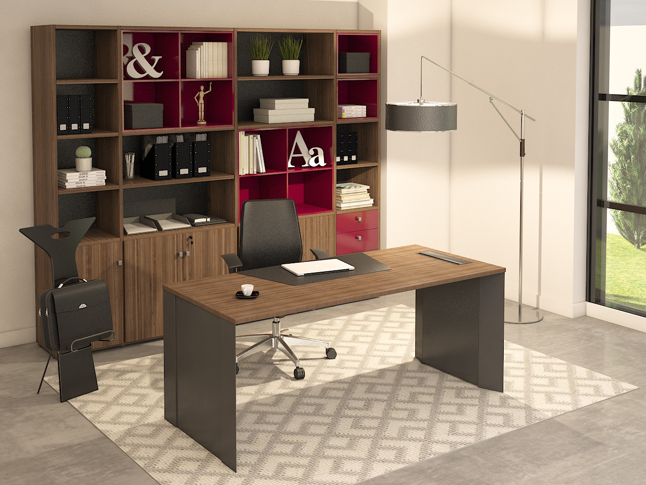 4U Office - Linha Executiva Board